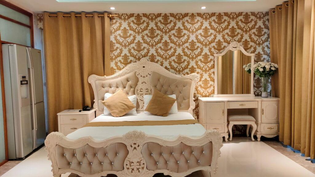 Phòng super vip giường nằm êm ái