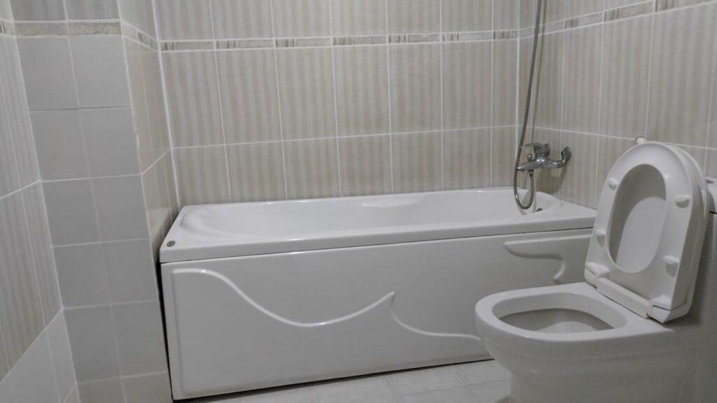 Phòng tắm có bồn tắm riêng